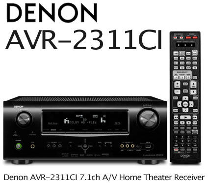 Denon Avr 2311ci 7 1 Ch Hdmi 6 1 3d Home Theater Receiver