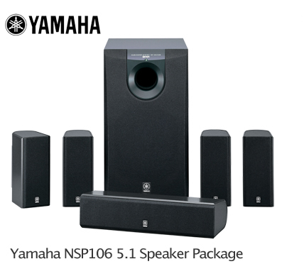 Yamaha Satellite Speaker Package