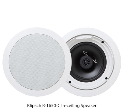 "Klipsch R 1650 C in Ceiling Speaker 6 5"" 2 Way Speakers ..."