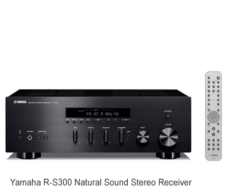 Yamaha 2 channel stereo receiver r s300 rs300b w speaker for Yamaha multi zone receiver