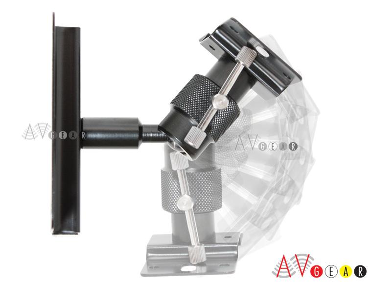 Small Wall Mounted Rotating Fans : New universal speaker wall mount brackets swivel ball ebay