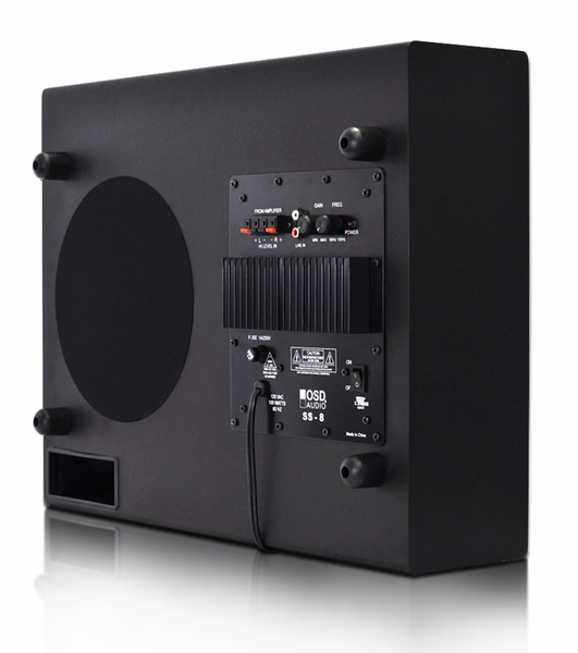 New Osd Ss8 100w Ultra Thin Low Profile 8 Subwoofer