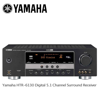 Yamaha htr6130b 5 1 hd surround sound digital receiver for Yamaha surround sound manual