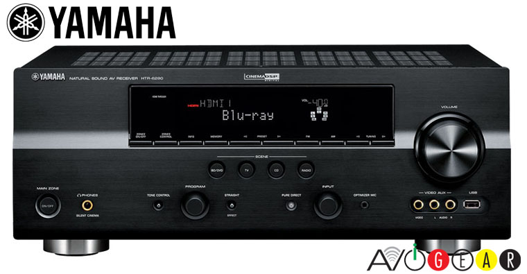 Yamaha htr6280b 7 1 hd sur hdmi receiver 735w clearance ebay for Yamaha multi zone receiver