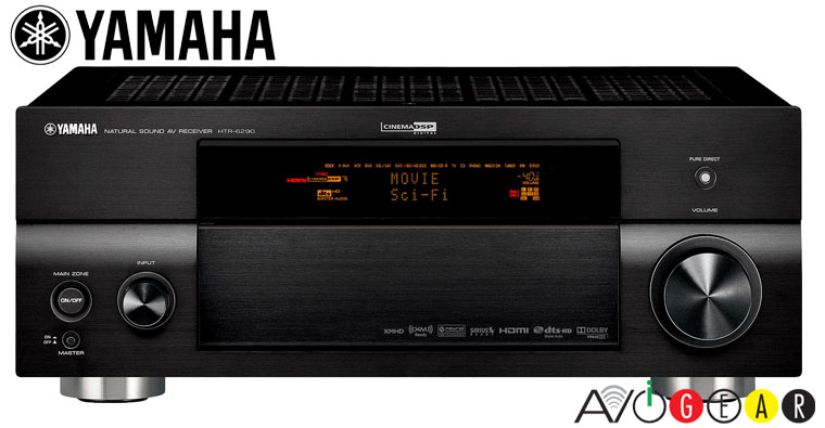 Yamaha htr6290 7ch receiver 910 watts final clearance ebay for Yamaha multi room receiver
