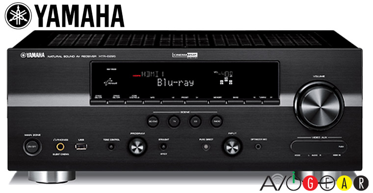Yamaha htr6295b 7 1ch receiver 910 watts hdmi 5in 2out ebay for Yamaha multi zone receiver